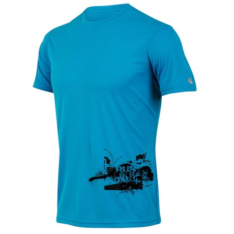 Pearl Izumi Tech T-Shirt - Limited Edition, Short Sleeve (For Men) in Electric Blue