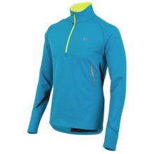 Pearl Izumi Therma Phase Pullover Jacket - Zip Neck, Long Sleeve (For Men) in Electric Blue - Closeouts