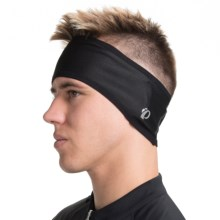 Pearl Izumi Thermal Cycling Headband (For Men and Women) in Black - Closeouts