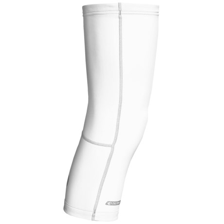 Pearl Izumi Thermal Knee Warmers (For Men and Women) in White