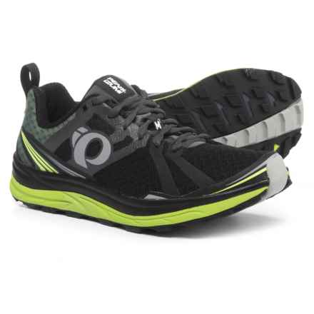 Pearl Izumi Trail M2 V3 Running Shoes (For Men) in Black/Shadow Grey - Closeouts