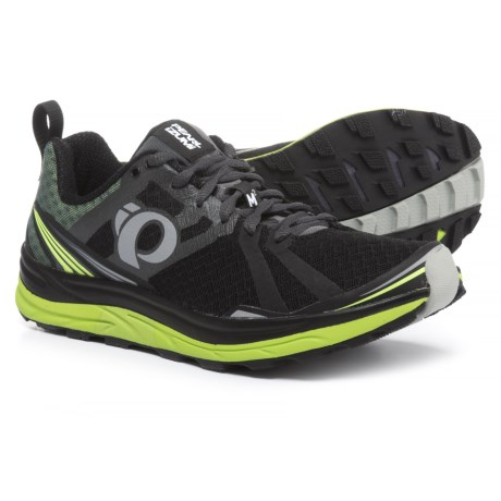 Pearl Izumi Trail M2 V3 Running Shoes (For Men) in Black/Shadow Grey