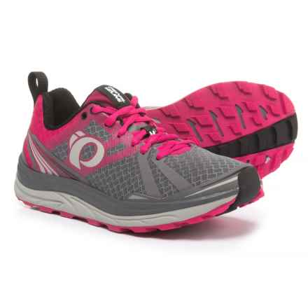 Pearl Izumi Trail M2 V3 Running Shoes (For Women) in Smoked Pearl/Bright Rose - Closeouts