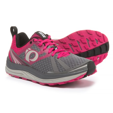 Pearl Izumi Trail M2 V3 Running Shoes (For Women) in Smoked Pearl/Bright Rose