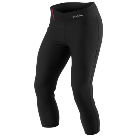 Pearl Izumi Transfer 3/4 Base Layer Bottoms - Midweight (For Women) in Black