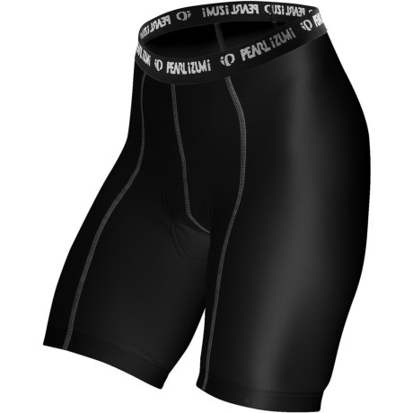 Pearl Izumi Transfer Cycling Liner Shorts (For Women) in Black