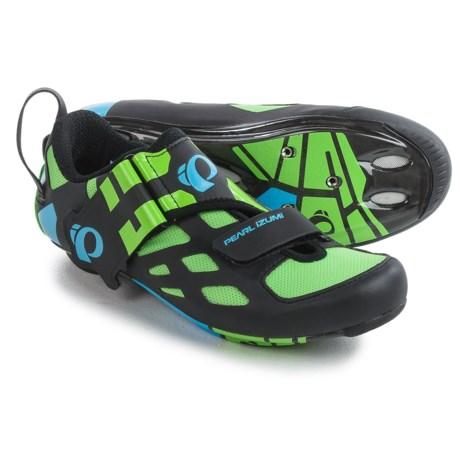 Pearl Izumi Tri Fly V Carbon Triathlon Cycling Shoes - 3-Hole (For Men)