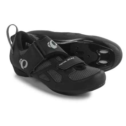 Pearl Izumi Tri Fly V Triathlon Cycling Shoes - SPD, 3-Hole (For Men) in Black - Closeouts