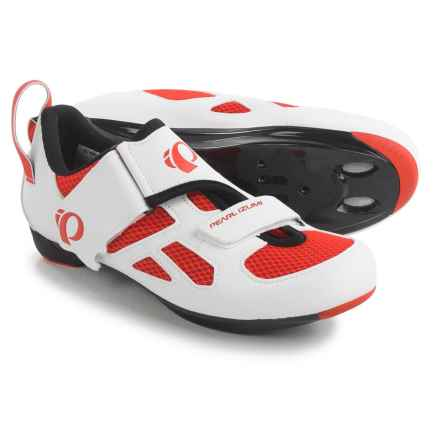 Pearl Izumi Tri Fly V Triathlon Cycling Shoes - SPD, 3-Hole (For Men) in Mandarin Red - Closeouts