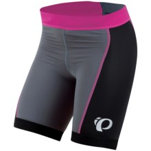 Pearl Izumi Tri Shorts (For Women) in Black/Hot Pink - Closeouts
