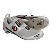 Pearl Izumi Tri Ti Triathlon Cycling Shoes - 3 Hole (For Men) in Black/Vapor - Closeouts