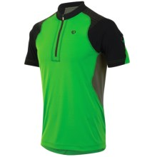 Pearl Izumi Ultra Inside-Out Shirt - UPF 50+, Zip Neck, Short Sleeve (For Men) in Fairway - Closeouts