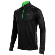Pearl Izumi Ultra Pullover - Zip Neck, Long Sleeve (For Men) in Black - Closeouts