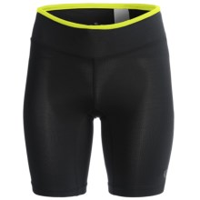 Pearl Izumi ULTRA Short Tights (For Women) in Black/Lime - Closeouts