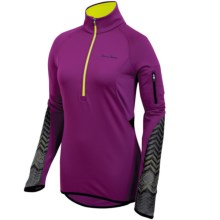 Pearl Izumi ULTRA Thermal Top - Zip Neck, Long Sleeve (For Women) in Orchid - Closeouts
