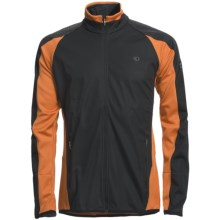 Pearl Izumi Ultra Wind Blocking Jacket (For Men) in Black/Rust - Closeouts