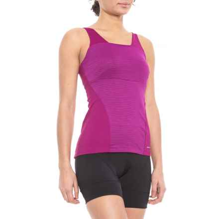 Pearl Izumi Ultrastar Cami Tank Top - UPF 50+, Built-In Shelf Bra (For Women) in Purple Wine - Closeouts