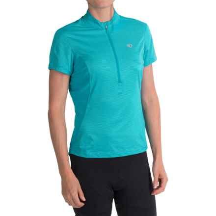 Pearl Izumi Ultrastar Cycling Jersey - UPF 50+, Zip Neck, Short Sleeve (For Women) in Scuba Blue - Closeouts