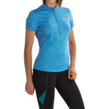 Pearl Izumi Ultrastar Cycling Jersey - UPF 50+, Zip Neck, Short Sleeve (For Women) in Sky Blue - Closeouts
