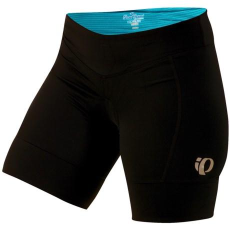 Pearl Izumi Ultrastar Cycling Shorts (For Women) in Black/Scuba Blue