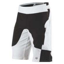Pearl Izumi Veer Mountain Bike Shorts - Removable Liner Shorts (For Men) in White Solid - Closeouts