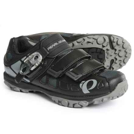 Pearl Izumi X-Alp Enduro IV Mountain Bike Shoes - SPD (For Men) in Black/Shadow Grey - Closeouts