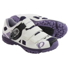 Pearl Izumi X-Alp Enduro IV Mountain Bike Shoes - SPD (For Women) in White/Purple Haze - Closeouts