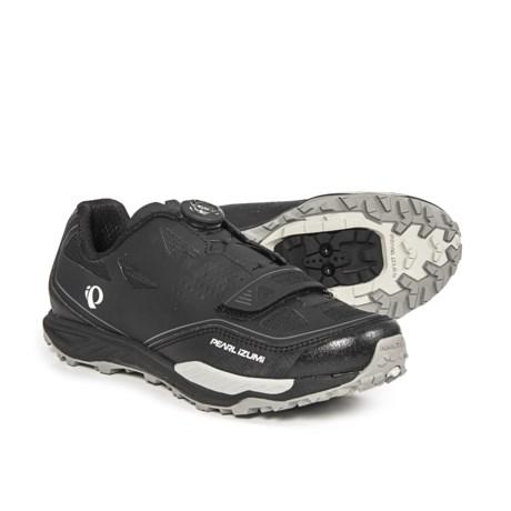 Pearl Izumi X-Alp Launch II Mountain Bike Shoes - SPD (For Men) in Black/Shadow Grey