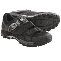 Pearl Izumi X-Alp Launch Mountain Bike Shoes - SPD (For Men) in Black/Black