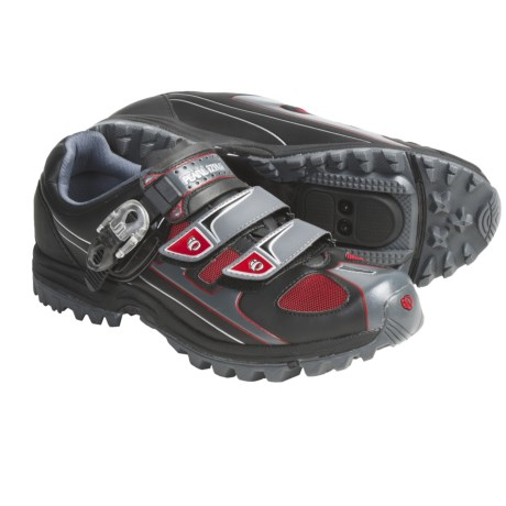 Pearl Izumi X-Alp P.R.O Mountain Bike Shoes - SPD (For Men) in Black/Moonlight