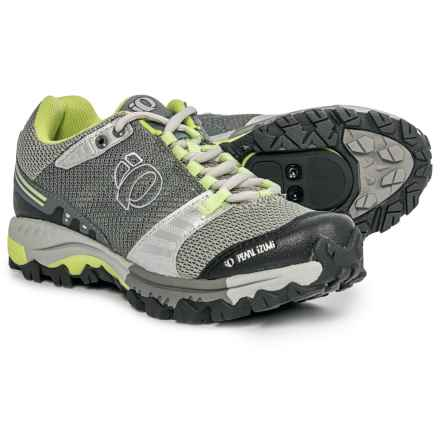 Pearl Izumi X-Alp Seek IV Mountain Bike Shoes - SPD (For Women) in Limestone/Silver - Closeouts