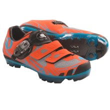Pearl Izumi X-Project 1.0 Mountain Bike Shoes (For Men) in Safety Orange/Electric Blue - Closeouts