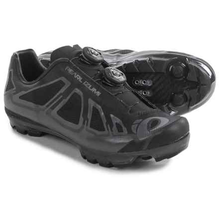 Pearl Izumi X-Project 1.0 Mountain Bike Shoes - SPD (For Men) in Shadow Grey/Black - Closeouts