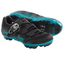 Pearl Izumi X-Project 3.0 Cycling Shoes  - SPD (For Women) in Black/Black - Closeouts
