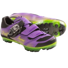 Pearl Izumi X-Project 3.0 Cycling Shoes  - SPD (For Women) in Purple/Lime - Closeouts