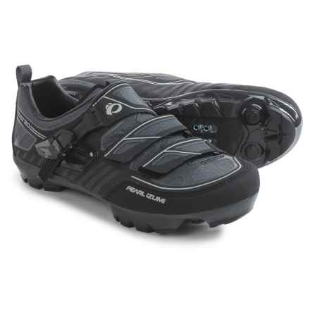 Pearl Izumi X-Project 3.0 Mountain Bike Shoes - SPD (For Men) in Black/Shadow Grey - Closeouts