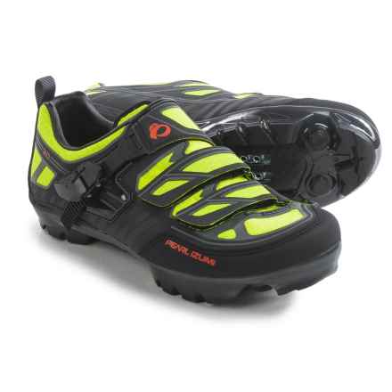 Pearl Izumi X-Project 3.0 Mountain Bike Shoes - SPD (For Men) in Lime Punch - Closeouts