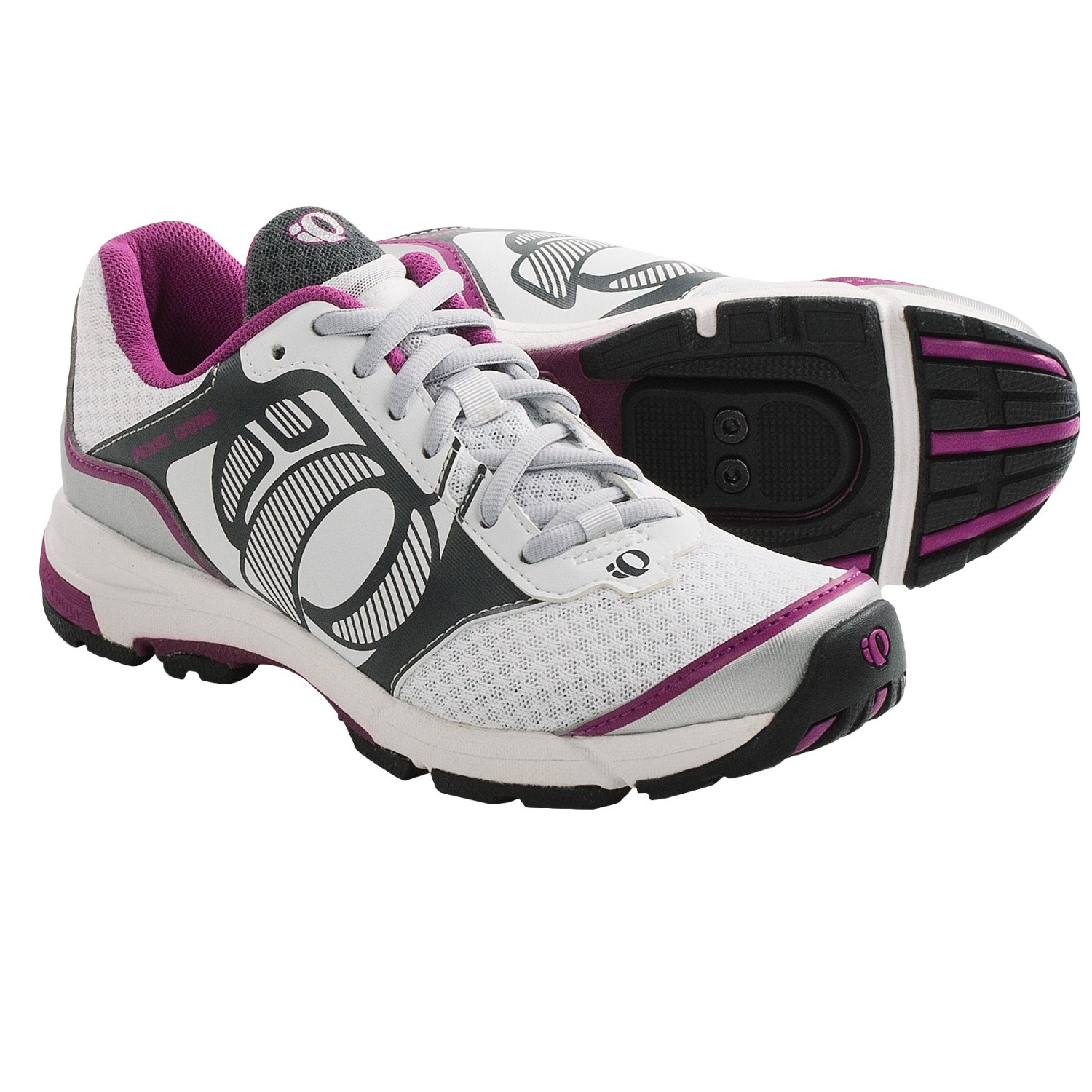 Pearl Izumi X-Road Fuel II Cycling Shoes - SPD (For Women) in White