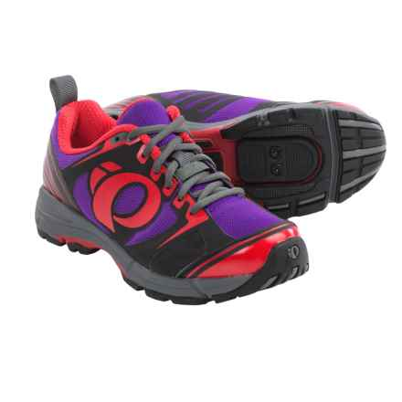 Pearl Izumi X-Road Fuel III Cycling Shoes - SPD (For Women) in Black/Purple - Closeouts