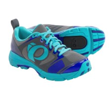 Pearl Izumi X-Road Fuel III Cycling Shoes - SPD (For Women) in Scuba Blue/Shadow Grey - Closeouts