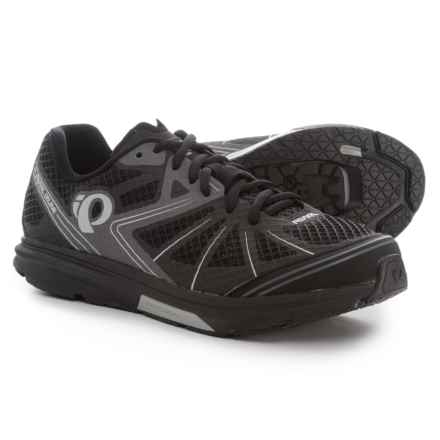 Pearl Izumi X-Road Fuel IV Cycling Shoes - SPD (For Men) in Black/Shadow Grey - Closeouts