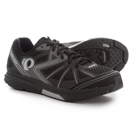 Pearl Izumi X-Road Fuel IV Cycling Shoes - SPD (For Men) in Black/Shadow Grey