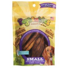 Pegetables Natural Vegetable Dental Chews - Small Dogs in See Photo - Closeouts