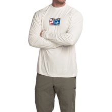 Pelagic AquaTek High-Performance Shirt - UPF 50, Long Sleeve (For Men) in White - Closeouts
