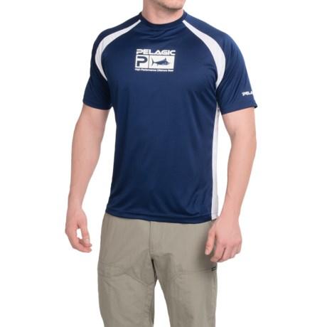 Pelagic vaportek hi performance short sleeve fishing shirt for High performance fishing shirts