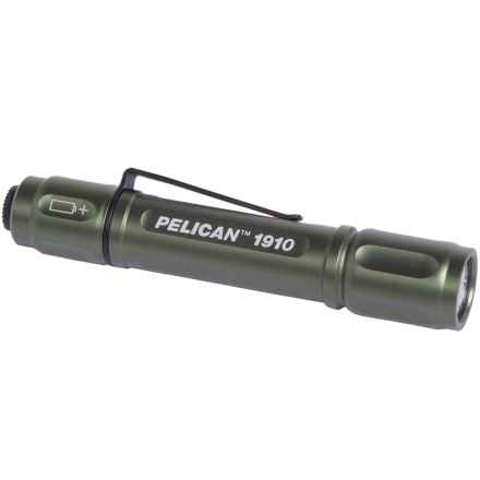 Pelican Products 1910 LED Aluminum Flashlight - 72 Lumens in Green - Closeouts