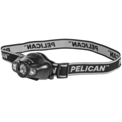 Pelican Products 2710 LED Headlamp in Black