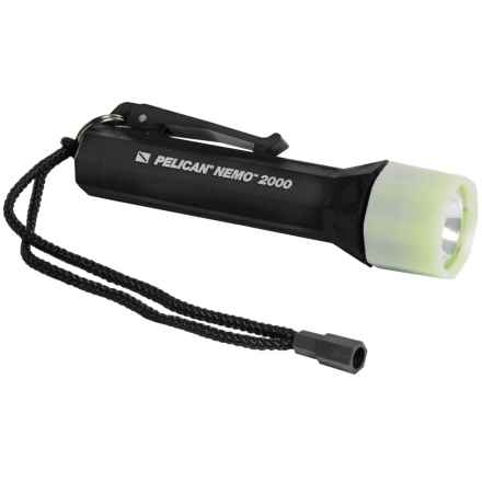 Pelican Products Nemo 2000 Xenon Lamp Flashlight - 53 Lumens in Black - Closeouts