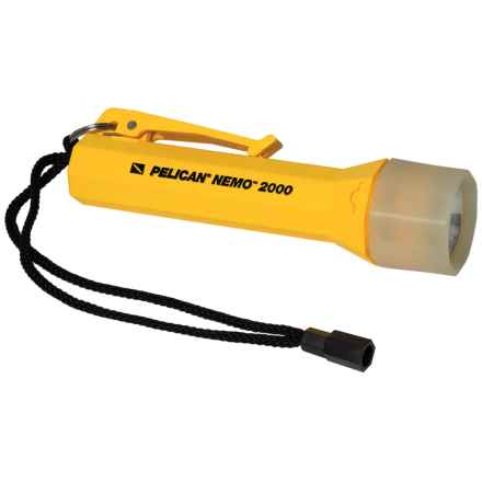 Pelican Products Nemo 2000 Xenon Lamp Flashlight in Yellow - Closeouts