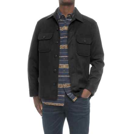 Pendleton Beaumont Shirt Jacket - Wool-Cashmere (For Men) in Black - Closeouts